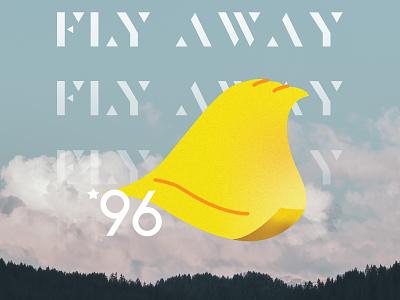 Fly Away photoshop illustrator illustration super mario maker super nintendo snes nintendo