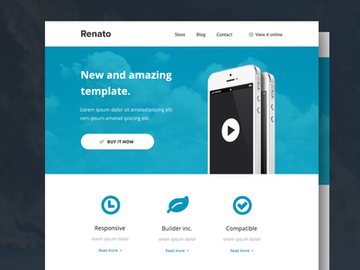 Renato - Responsive Email Template