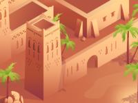 Desert isometric