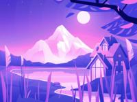 Lake House - illustration