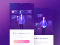 Crypto app ( illustrations )