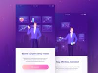 Crypto app ( illustrations )