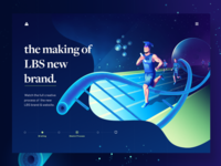 LBS brand ( Case study intro page )