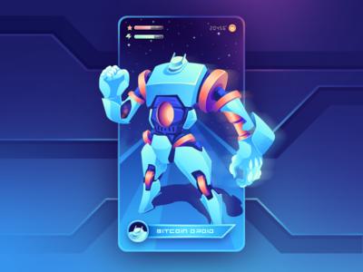Crypto Droid - App Card