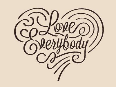 Love Everybody LogoType