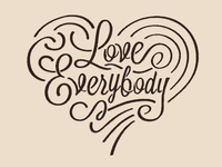 Love Everybody LogoType