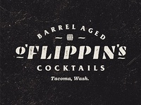 O'Fiippins Barrel Aged Cocktail Logo