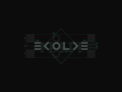 Evolve simple logo evolve minimalist logo minimal geometric logo geometric typography logo
