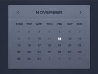 Calendar from Impressionist UI Hybrid