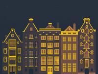 Houses night