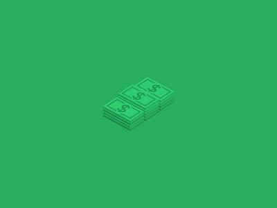 Isometric Money Icon money isometric bunch