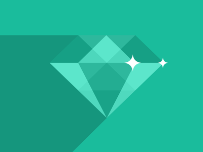 Flat UI Release (logo evolved) flat designmodo turquoise green diamond logo ui free freebie