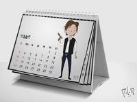 Han Solo Calendar
