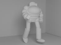Robo Undies!!! Beginning Phase of 3D Figure