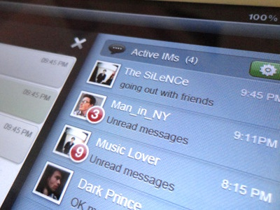 Chat Room ipad chat social ios