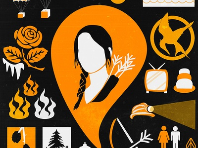 The Hunger Games Symbols By Risa Rodil Dribbble