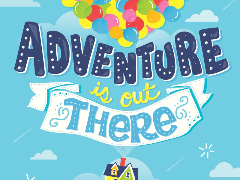 Adventure is out there by Risa Rodil on Dribbble