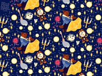 Beauty and the Beast Pattern
