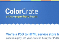 ColorCrate Home Page