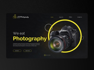 Photography Web Banner