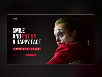 Joker Website UI