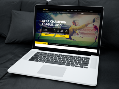 Soccer - Sport Team Clubs Template