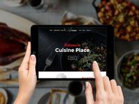 Cuisine - Restaurant Joomla Template