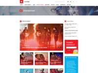 Dribbble Homepage 1 Png By Joomshaper