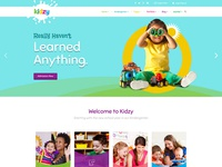 Kidzy - Joomla Template for Kindergartens and Elementary Schools