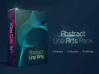 Abstract Line Arts Pack FREE