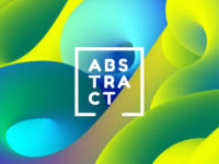 Abstract Background by Illustrator's Blend Tool
