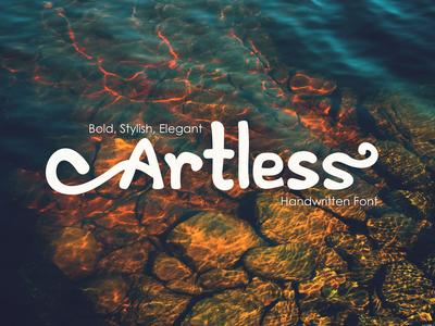 Artless - Handwritten Font