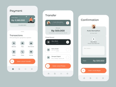 Wallet App Exploration clean illustration card android ios whitespace minimalist mobile app wallet