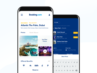 Booking Redesign Responsive Concept for S8 responsive mobile s8 dribbble fresh ui ux clean motel hotel booking