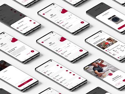 Lg SmartThinQ App Redesign dribbble ux uı modern clean redesign app lg