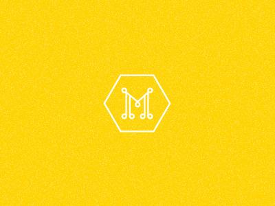 Miel. logo symbol honey miel yellow