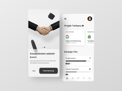 Remote Jobs | Mobile Apps Design black and white illustration simple mobile minimalism app branding flat ui design