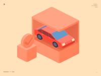 2.5d car