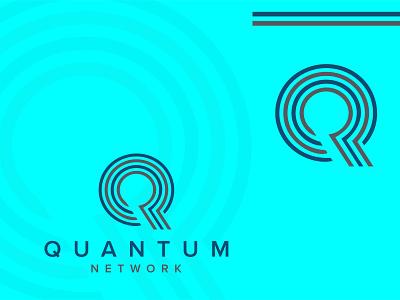 Quantum icon logo design
