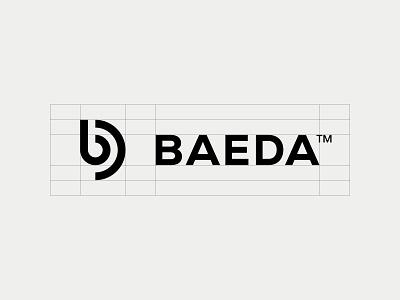 BAEDA™ — Logo Design typography symbol simple monogram minimalist minimal logo b