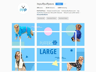 Instagram Banner Design