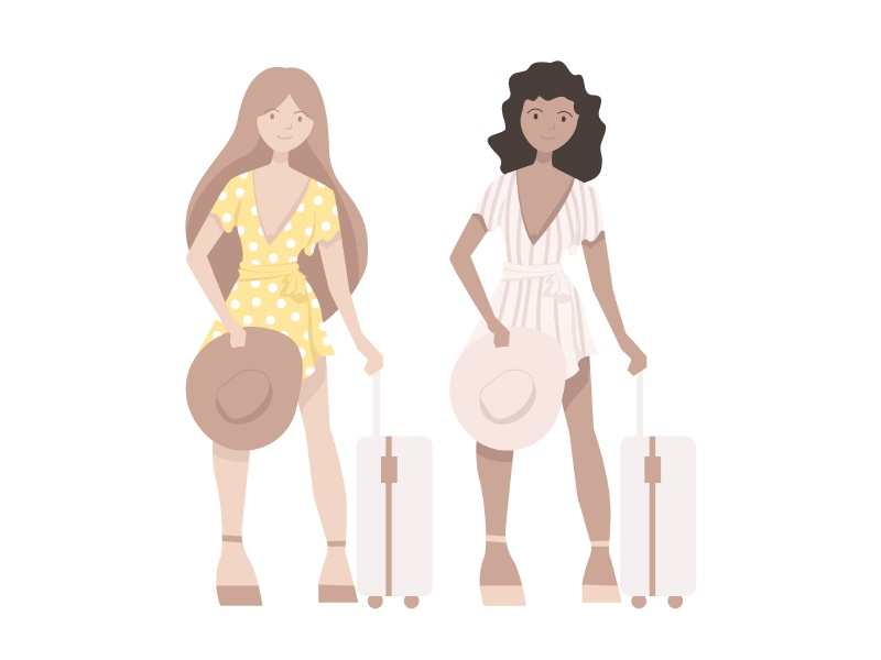 Vector Illustration illustration graphics travel fashion vector