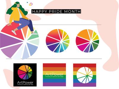 Logo Guide   ArtPower Pride Month