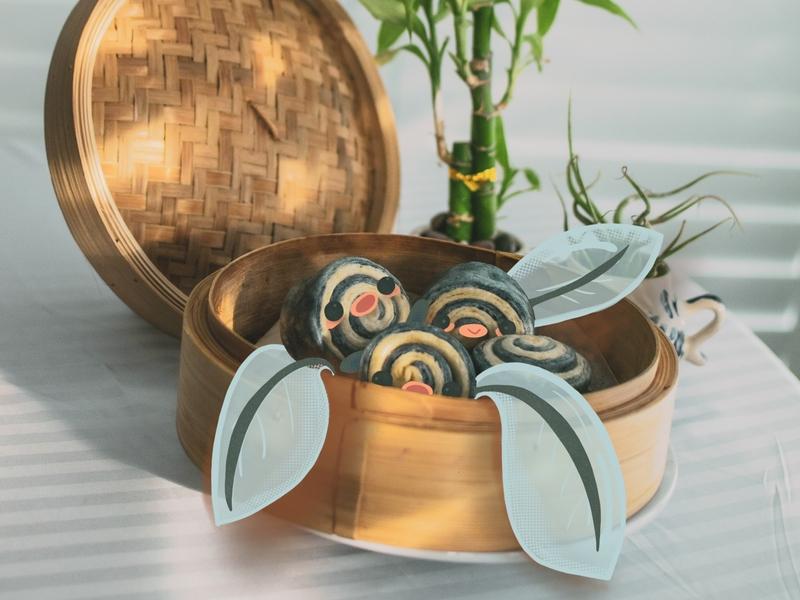 Polywag Photo Illustration baking illustration procreate nikon photography