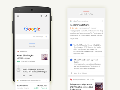 UI/UX Resume branding flat resume google ux uiux ui sketch minimal invite interaction app