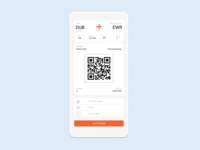 Daily UI Challenge Day 24: Boarding Pass