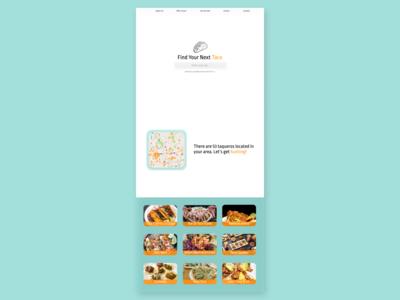 Daily UI Challenge Day 3: Taco Locator