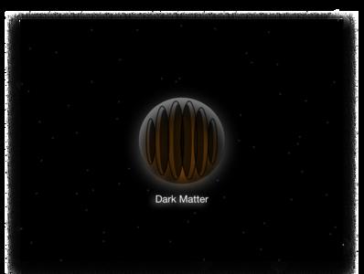 Daily UI Challenge Day 5: Dark Matter App Icon
