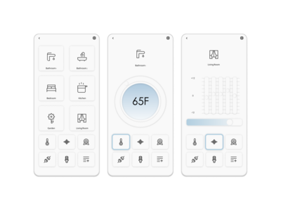 Daily UI Challenge Day 21: Home Monitoring