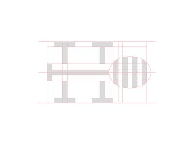 Honey Pot Meadery Icon Refinement refine dipper honey letter h identity icon